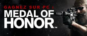 Résultats du concours Medal of Honor !