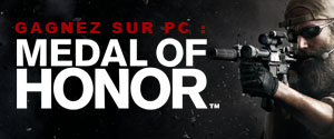 15 exemplaires de Medal of Honor à Gagner !