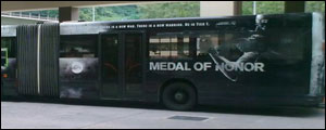 Bus Medal of Honor Singapore