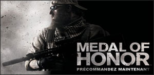 Medal of Honor en Précommande sur EAStore !