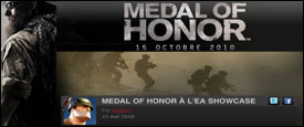 Medal of Honor à l'EA Showcase - Article Fr
