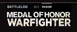 Ouverture du Battlelog MOH Warfighter